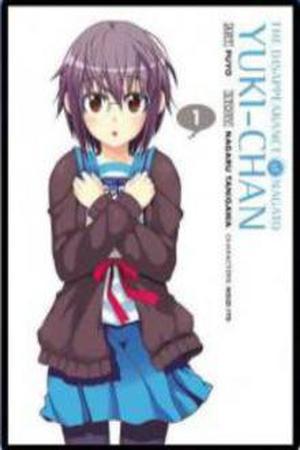Nagato yuki chan no shoushitsu cover